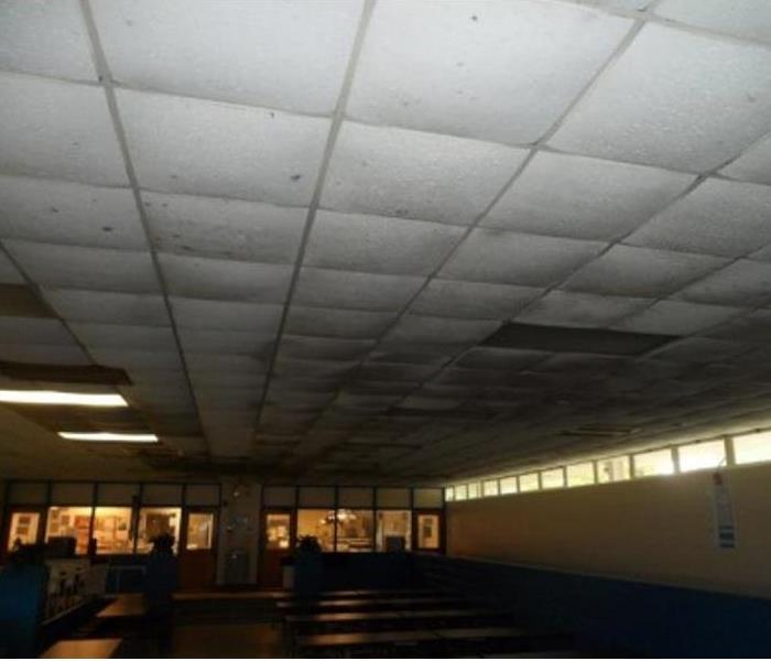 School Lunchroom with Excessive Mold  Before
