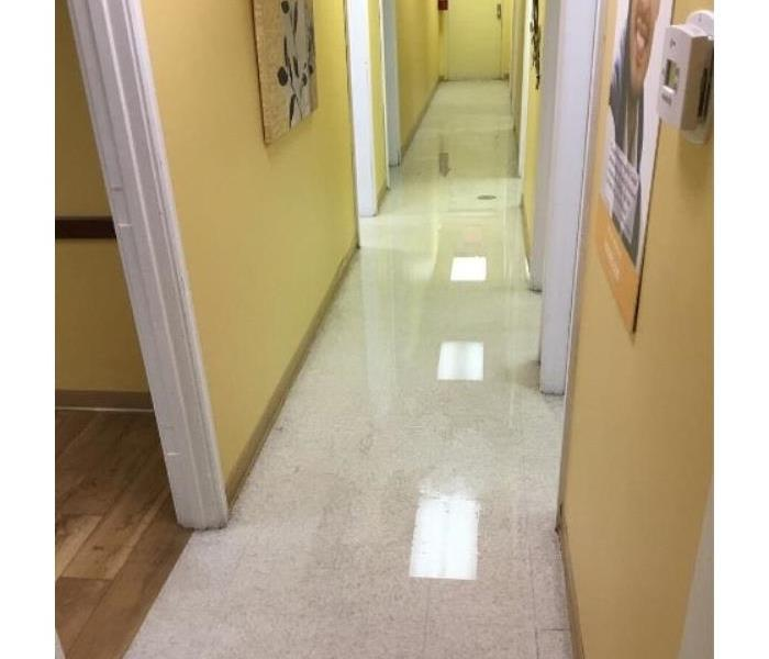 Urgent Care Water Mitigation Before