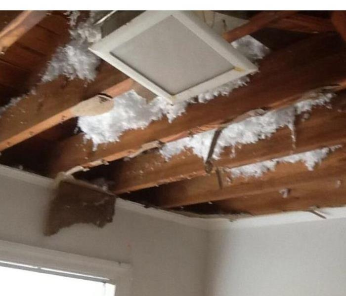 Water Damage from Winter Storm