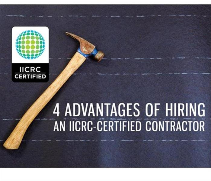 Water Damage 4 Advantages to Hiring An IICRC-Certified Contractor